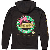 Simply Southern Women's Wreath Hoodie