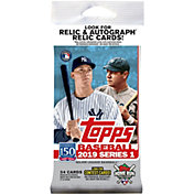Topps MLB 2019 Series One Trading Card Pack