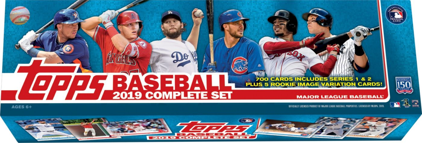 Topps MLB 2019 Trading Card Complete Set