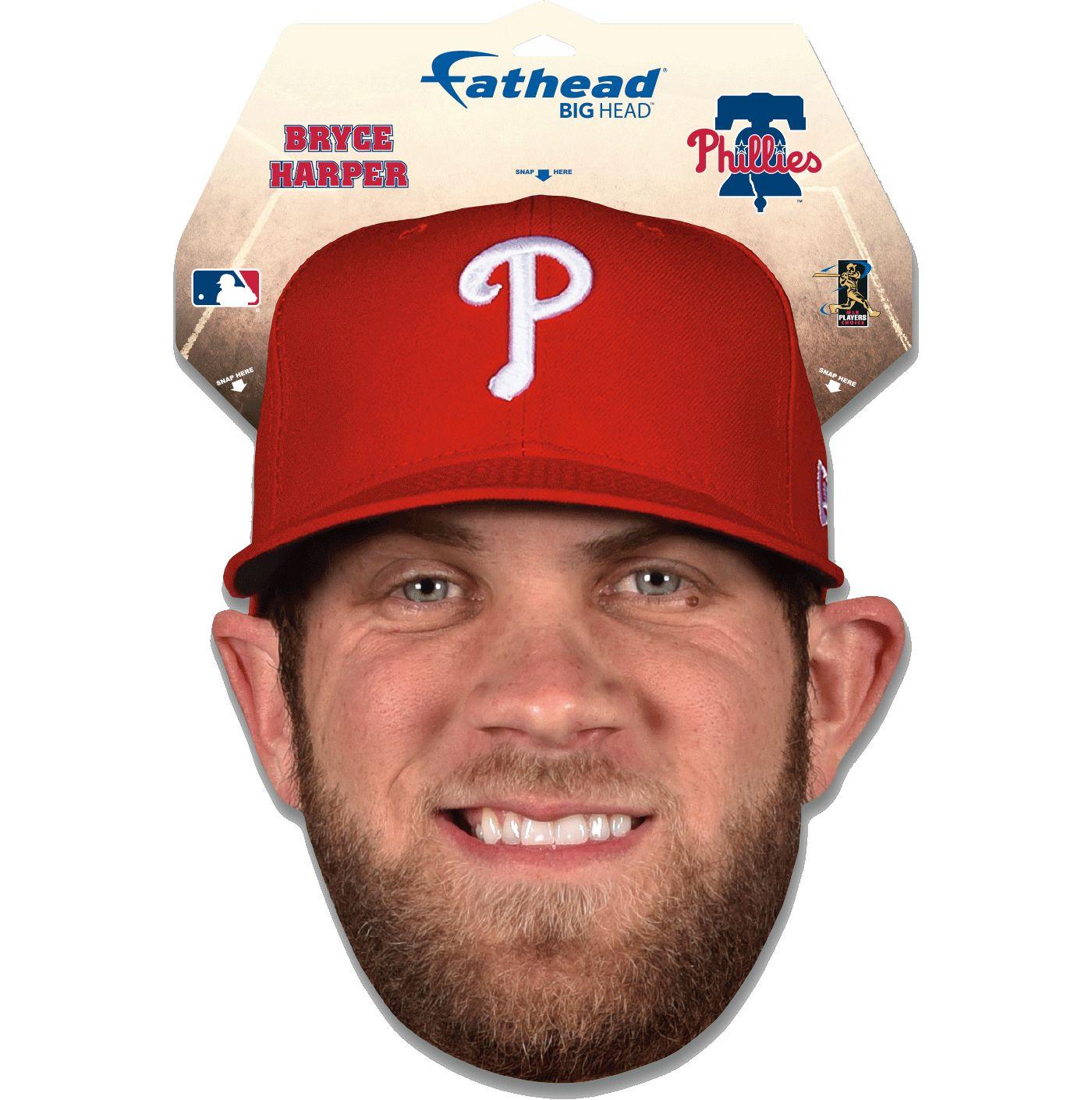 Fathead Philadelphia Phillies Bryce Harper Big Head Decal