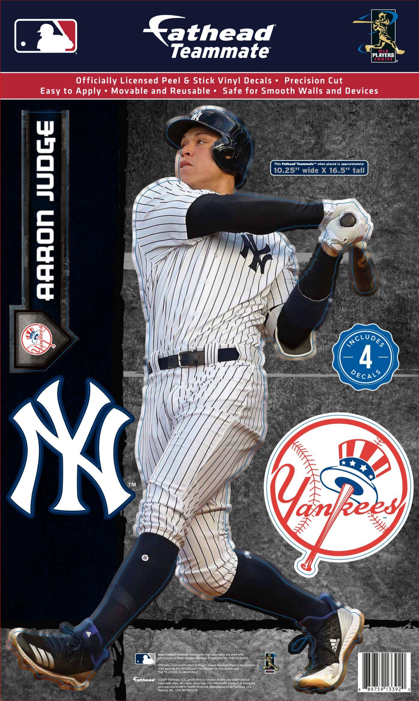 Fathead New York Yankees Aaron Judge Teammate Wall Decal
