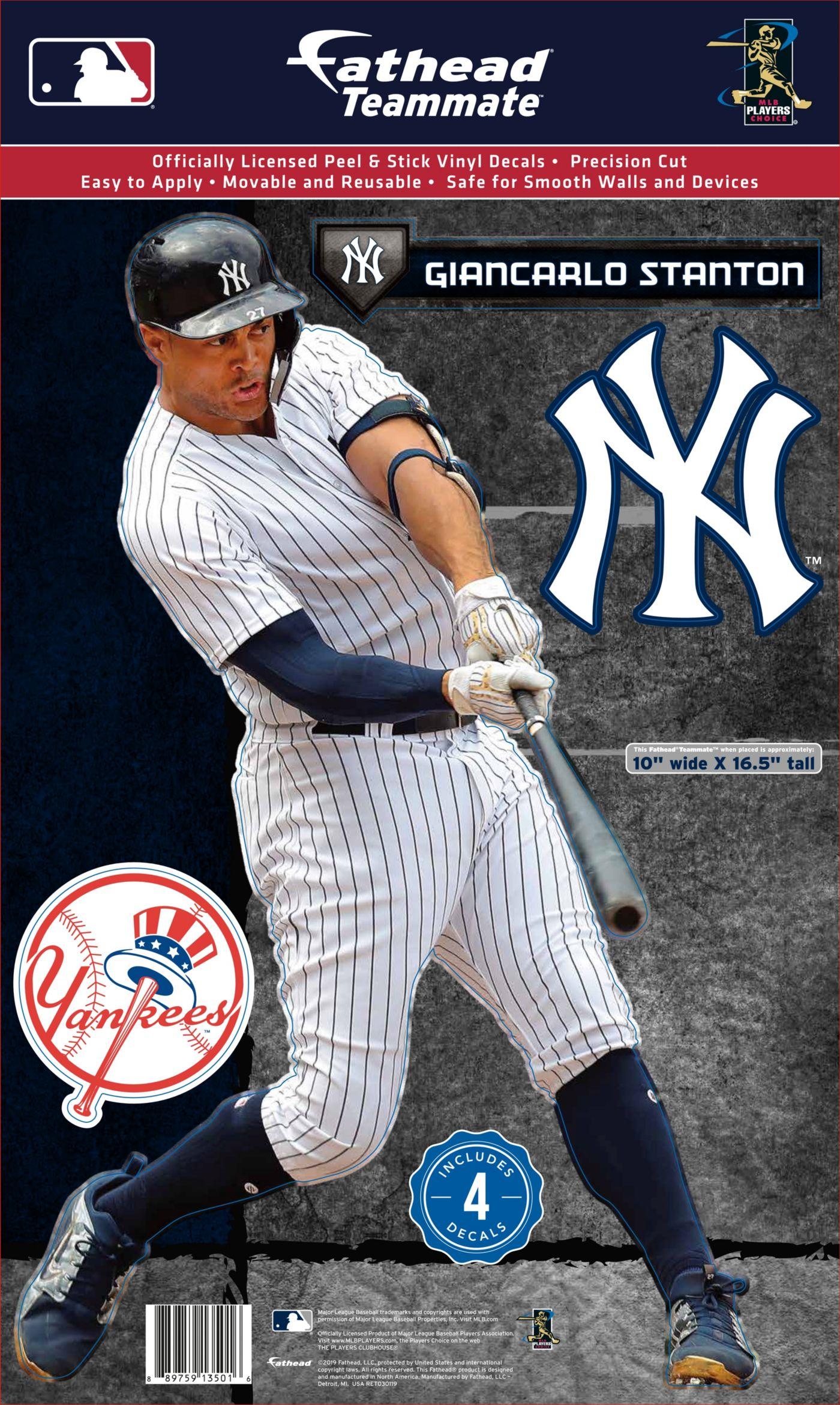 Fathead New York Yankees Giancarlo Stanton Teammate Wall Decal