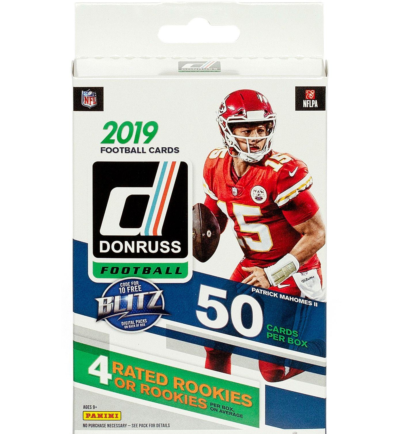 Topps NFL 2019 Series Hanger Box