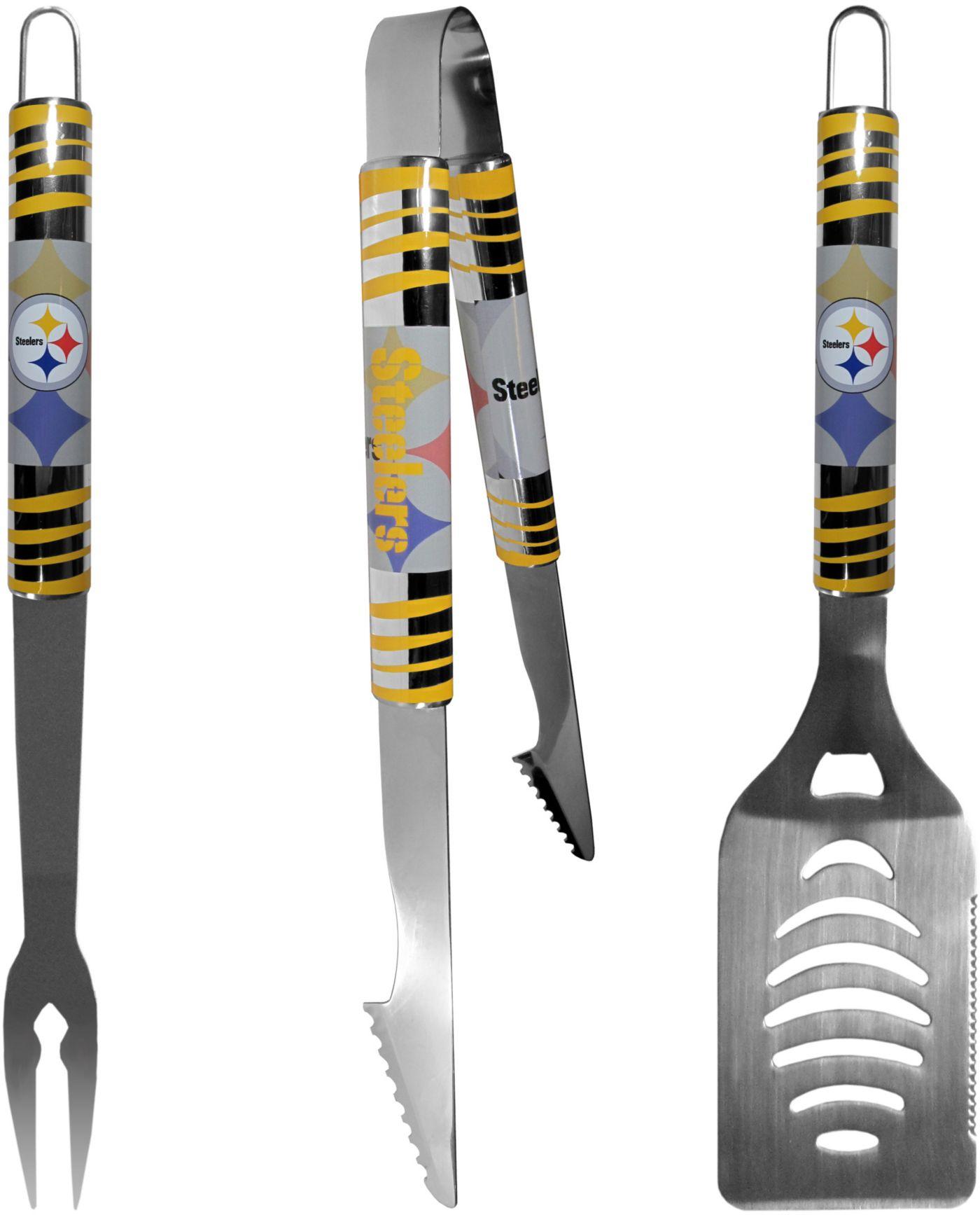Siskiyou Pittsburgh Steelers 3-Piece BBQ Tailgate Set