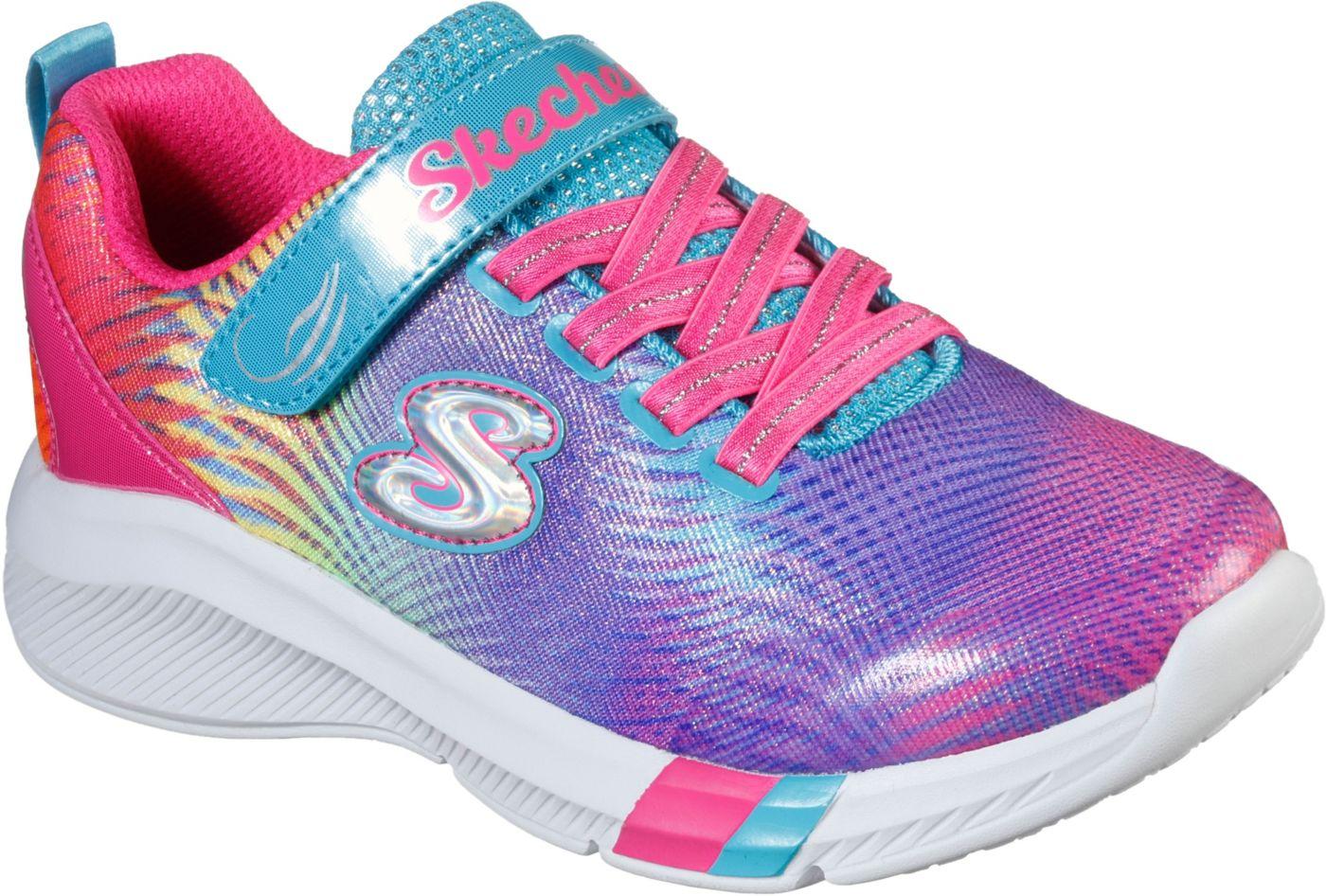 Skechers Kids' Preschool Dreamy Lites Rainbow Shoes