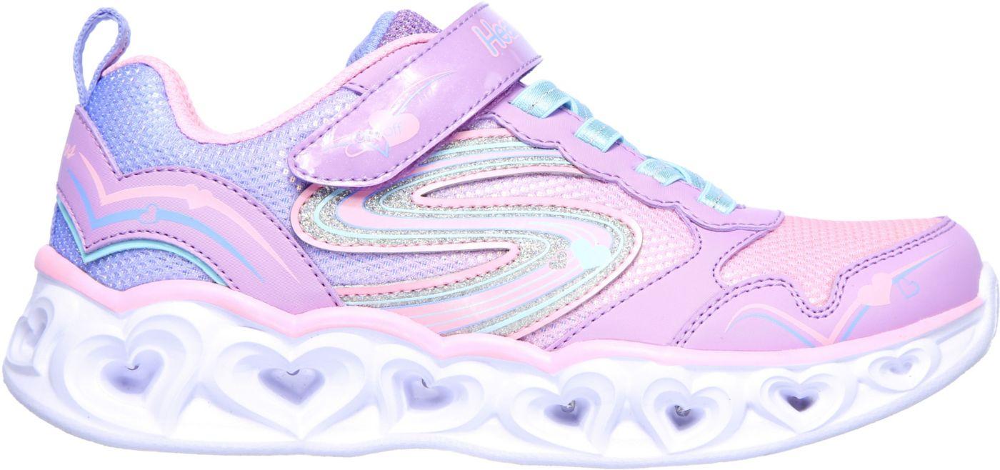Skechers Kids' Preschool Heart Lights Love Spark Shoes