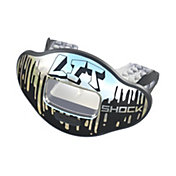 Shock Doctor Lit Max AirFlow 2.0 Chrome Lit Convertible Lip Guard