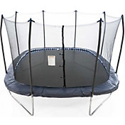 Skywalker Trampolines 13' Square Trampoline with Lighted Spring Pad