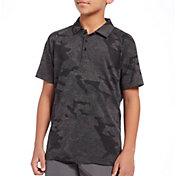 Slazenger Boys' Camo Jacquard Golf Polo