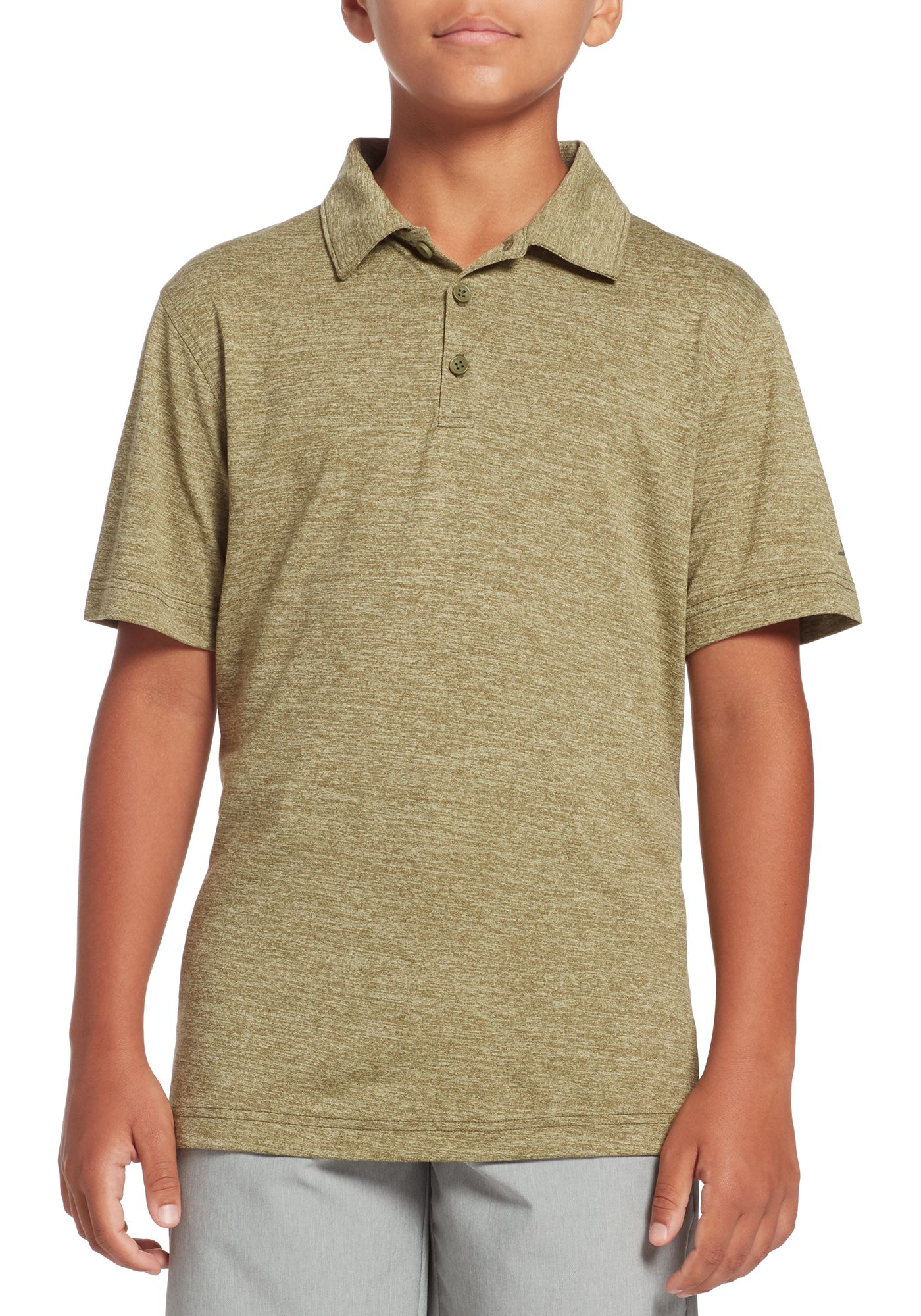 Slazenger Boys' Core Space Dye Golf Polo
