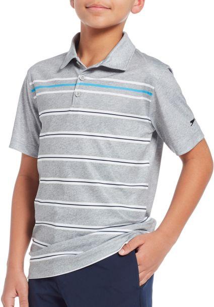 Slazenger Boys' Multi Stripe Golf Polo