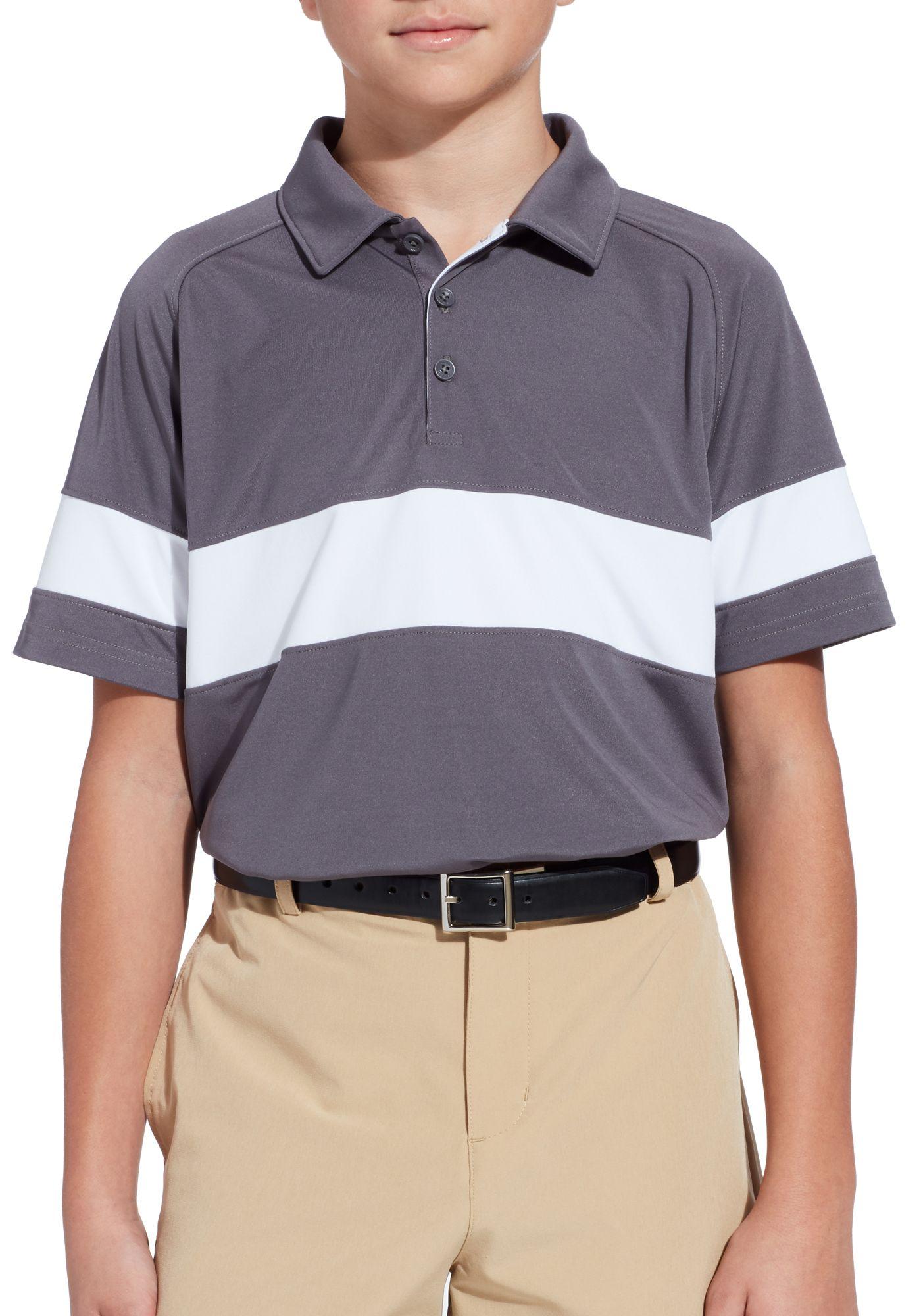 Slazenger Boys' Solid Colorblock Golf Polo