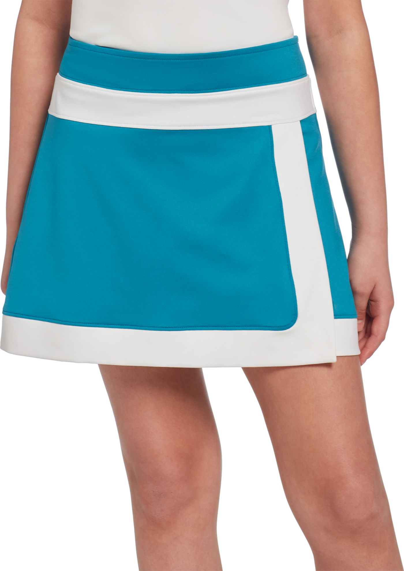 Slazenger Girls' Colorblock Envelope Golf Skort