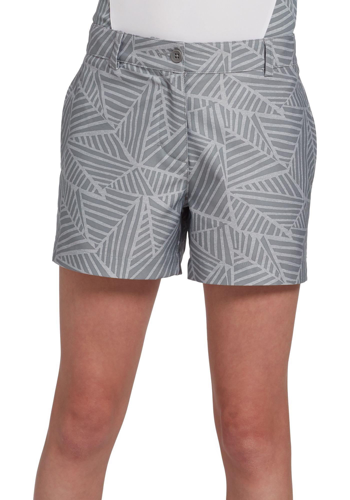 Slazenger Girls' Geo Printed Golf Shorts