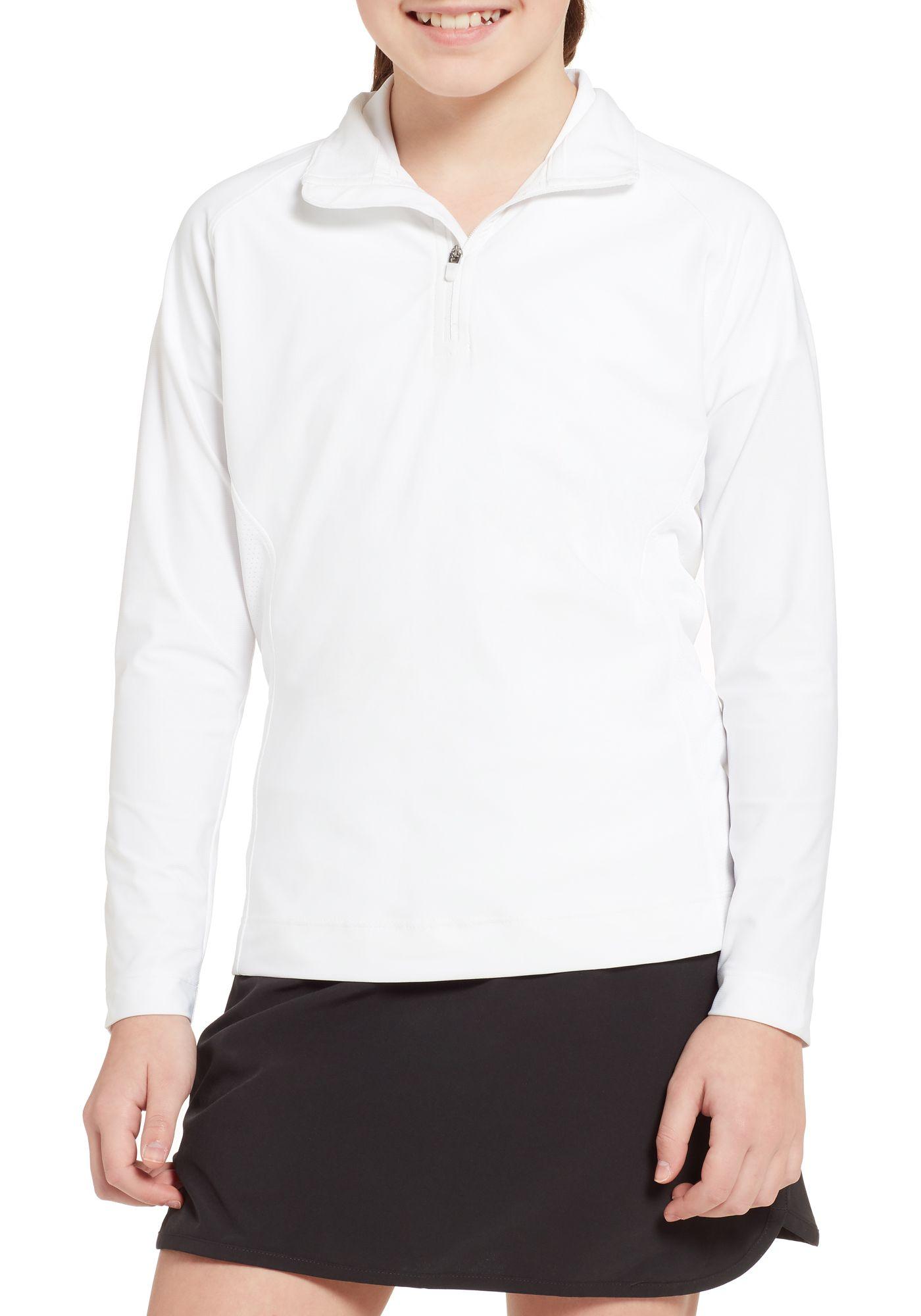 Slazenger Girls' UV Golf ¼ Zip