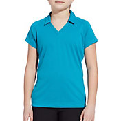 Slazenger Girls' Short Sleeve Raglan Golf Polo