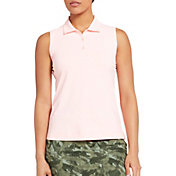 Slazenger Women's Camo Back Sleeveless Golf Polo