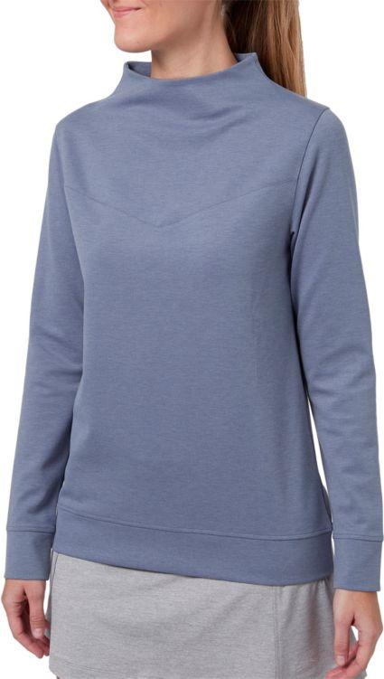 Slazenger Women's Lifestyle Funnel Neck Golf Pullover