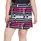 Slazenger Women's Night Print Golf Skort - Extended Sizes