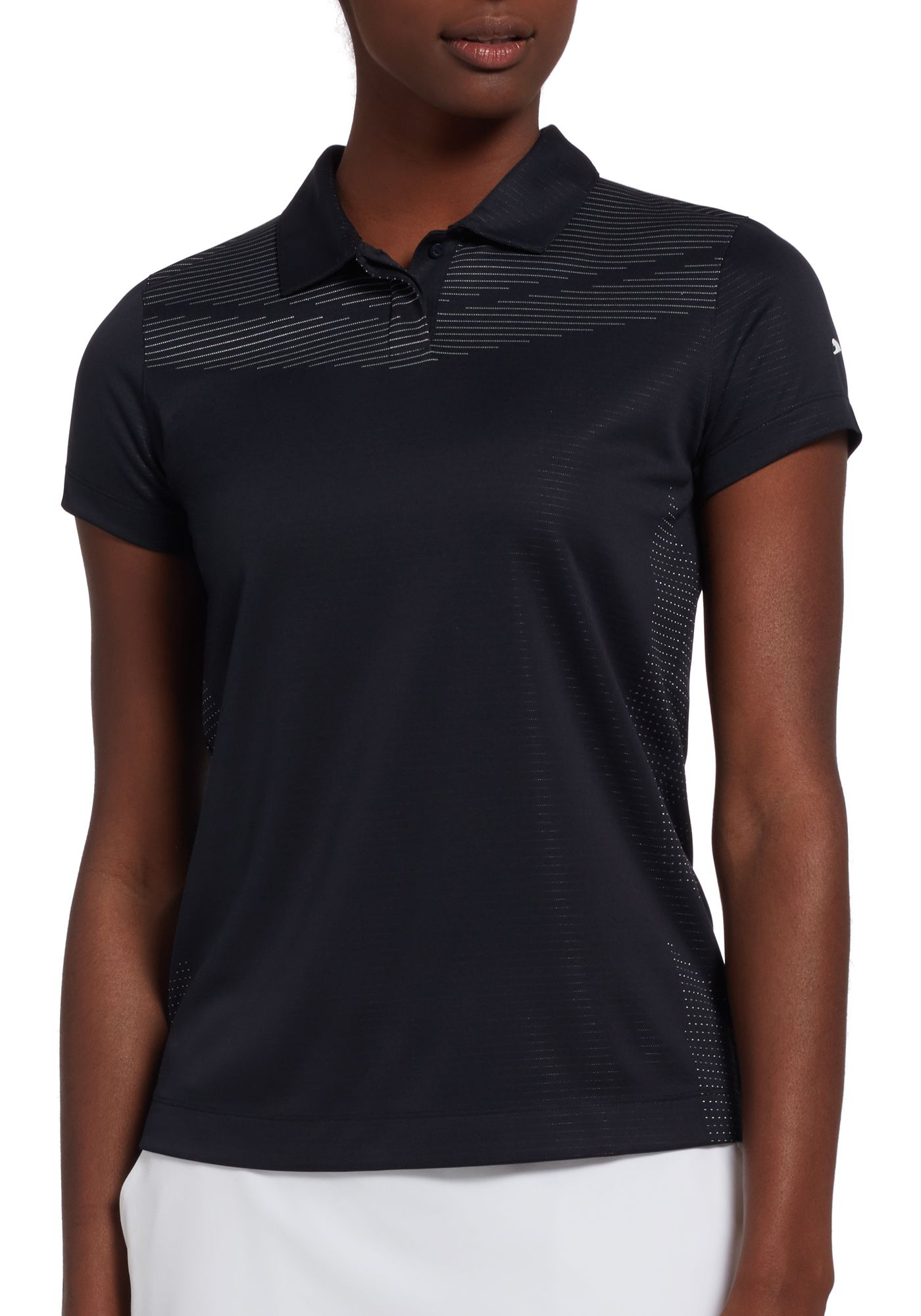 Slazenger Women's Body Mapping Short Sleeve Golf Polo