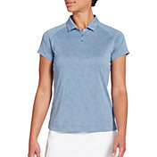 Slazenger Women's Texture Short Sleeve Golf Polo