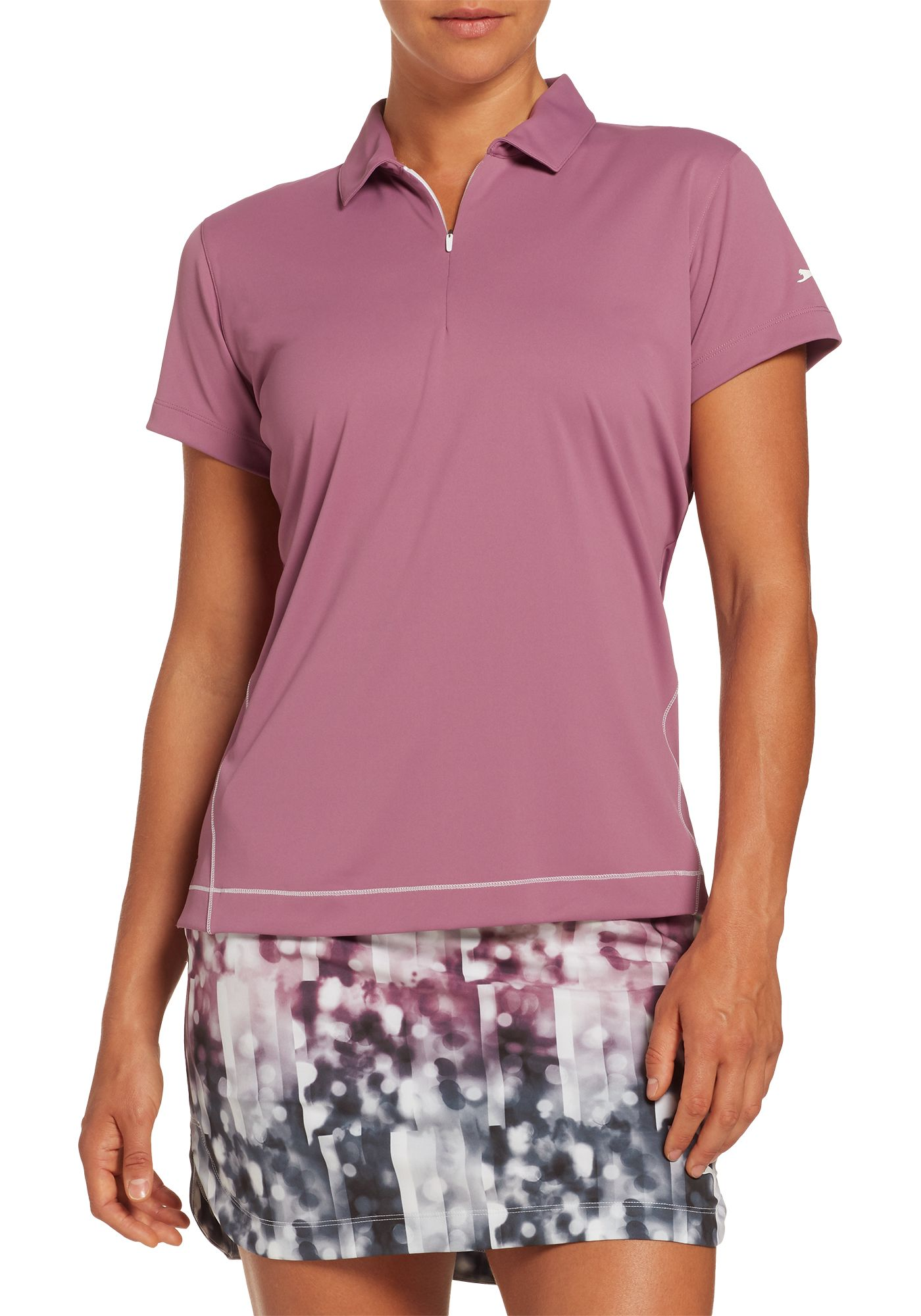 Slazenger Women's Tech Short Sleeve Golf Polo