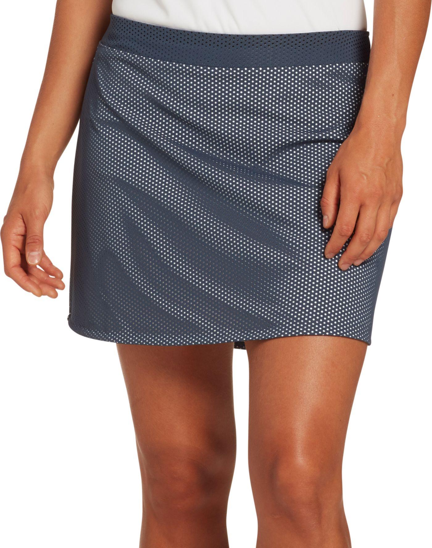 Slazenger Women's Knit Perforated Golf Skort