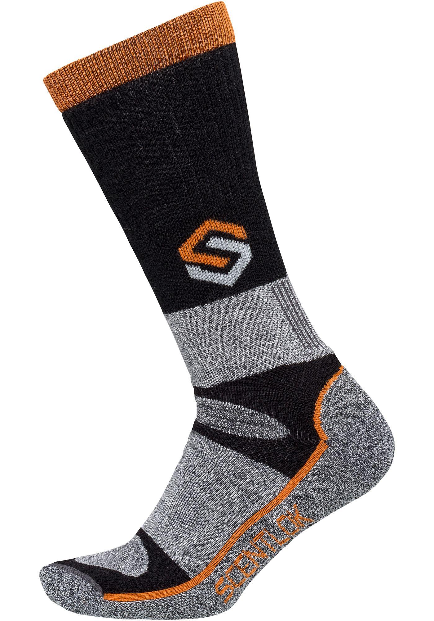 ScentLok Men's Merino Thermal Crewmax Outdoor Socks