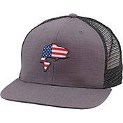 Simms Men's Bass Flag Trucker Hat