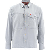 Simms Men's Guide Marl Long Sleeve Button Down Shirt