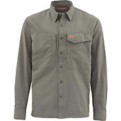Simms Men's Guide Solid Long Sleeve Button Down Shirt (Regular and Big & Tall)