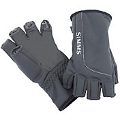 Simms Adult Guide Windbloc 1/2 Finger Fishing Gloves