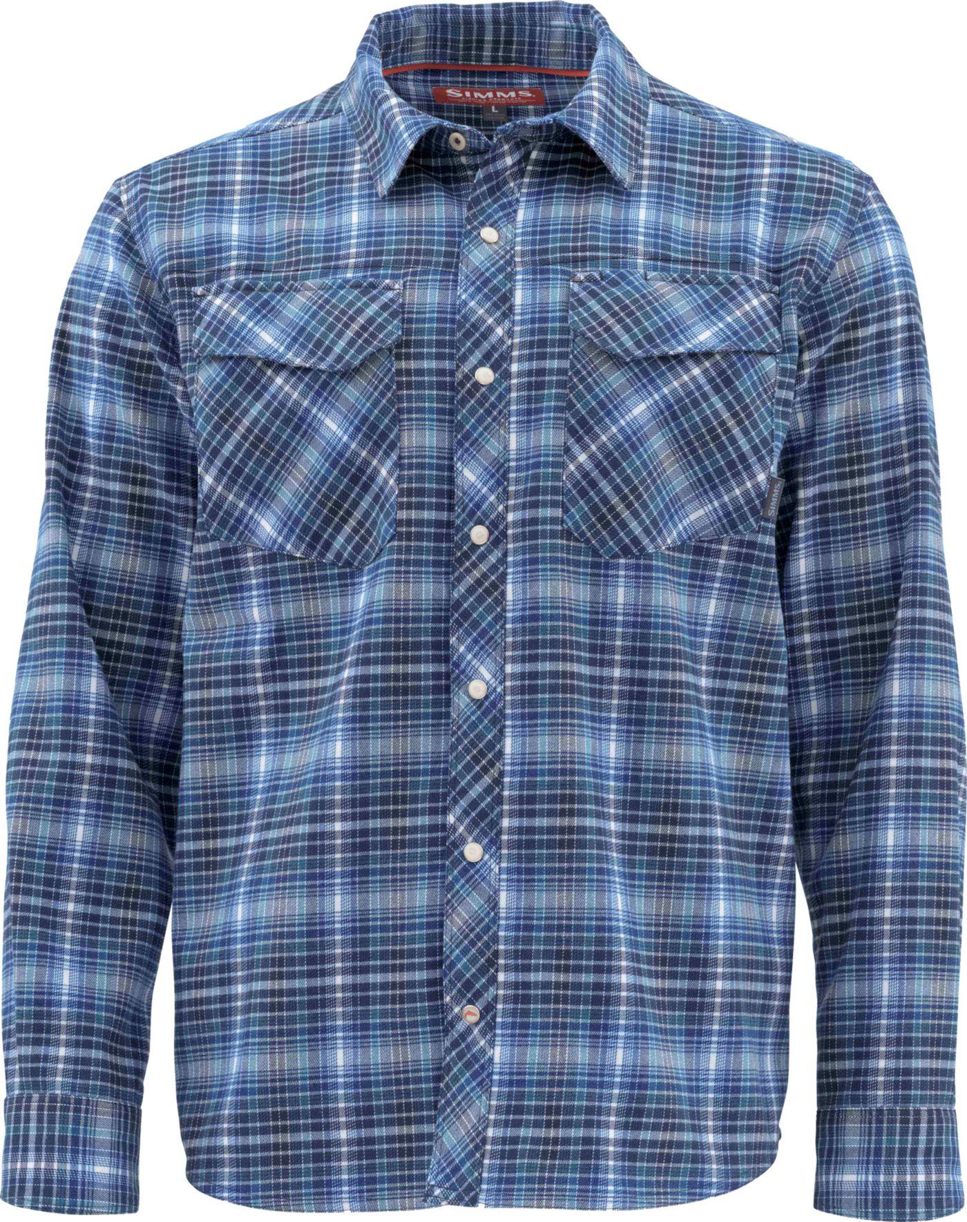 Simms Men's Gallatin Flannel Shirt (Regular and Big & Tall)