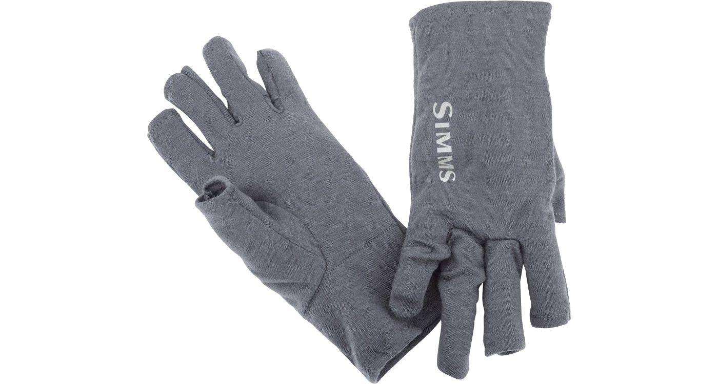Simms Men's Ultra-Wool 3-Finger Liner Gloves