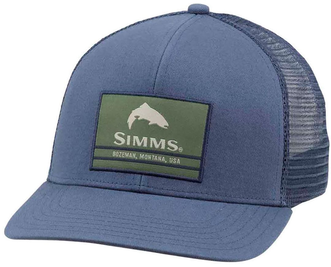 Simms Men's Original Patch Trucker Hat