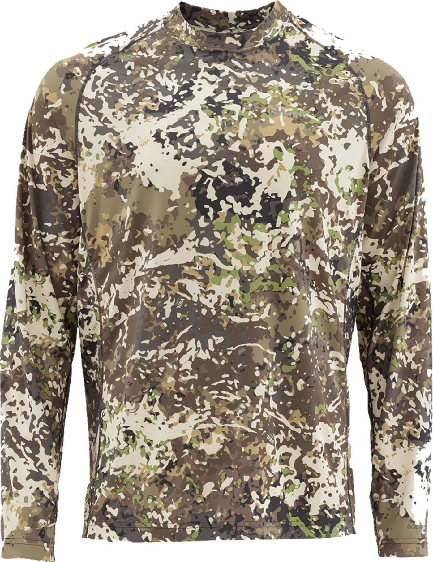 Simms Men's Solarflex Print Long Sleeve Fishing Shirt