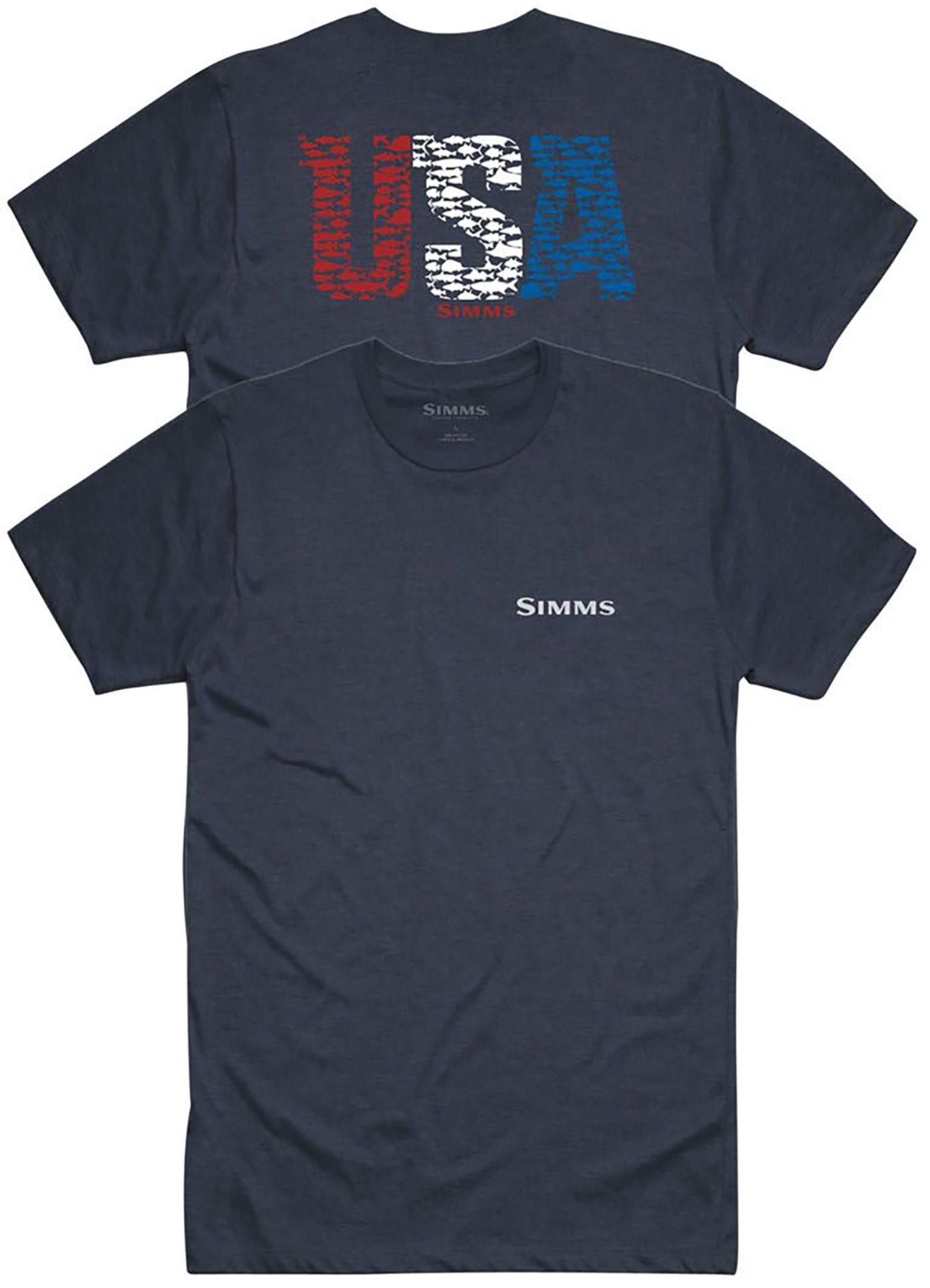 Simms Men's USA Species T-Shirt