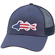 Simms Men's USA Walleye Trucker Hat