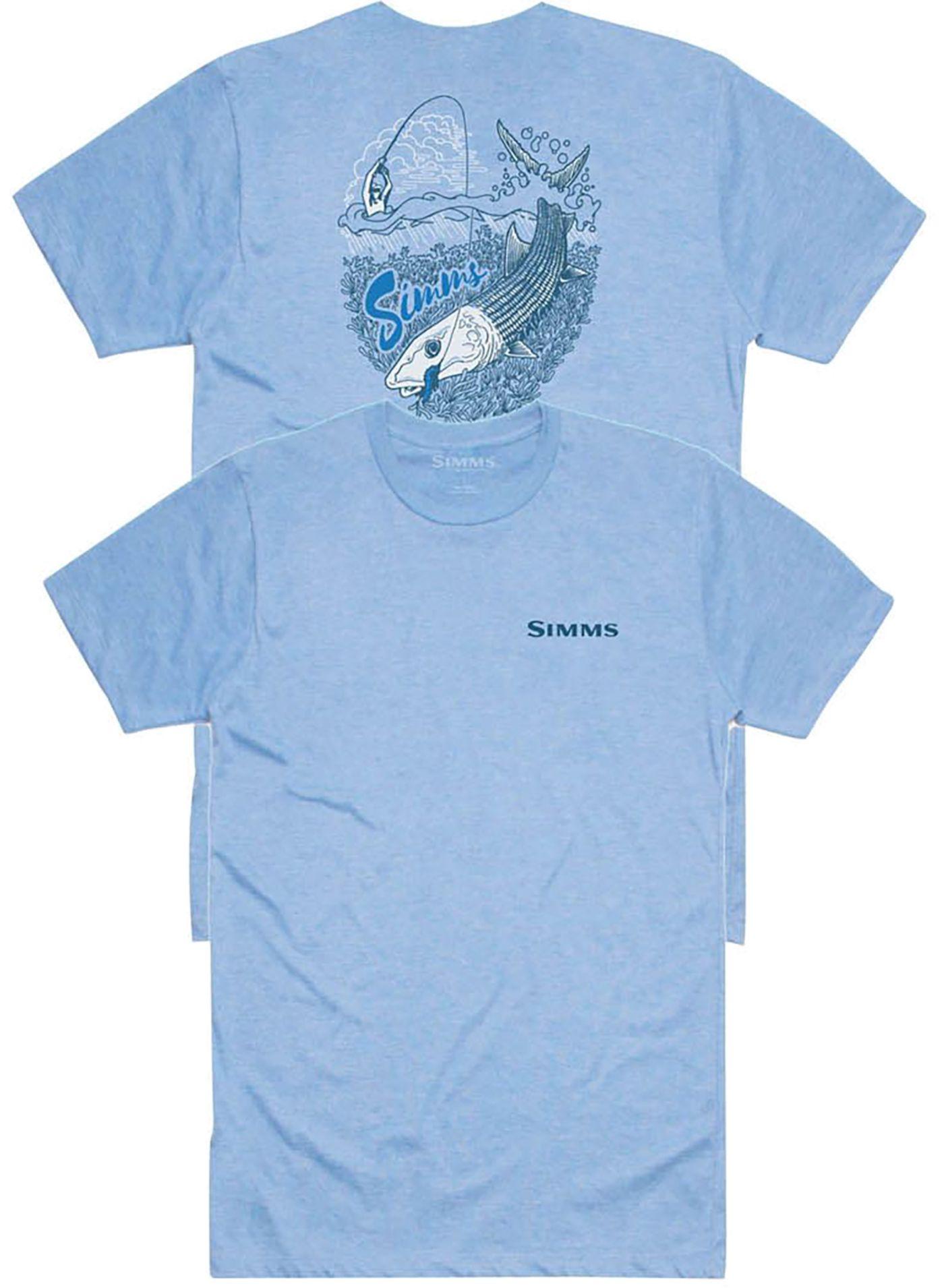 Simms Men's Graphic T-Shirt