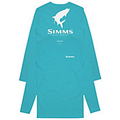 Simms Men's Tarpon Logo Long Sleeve Tech Tee