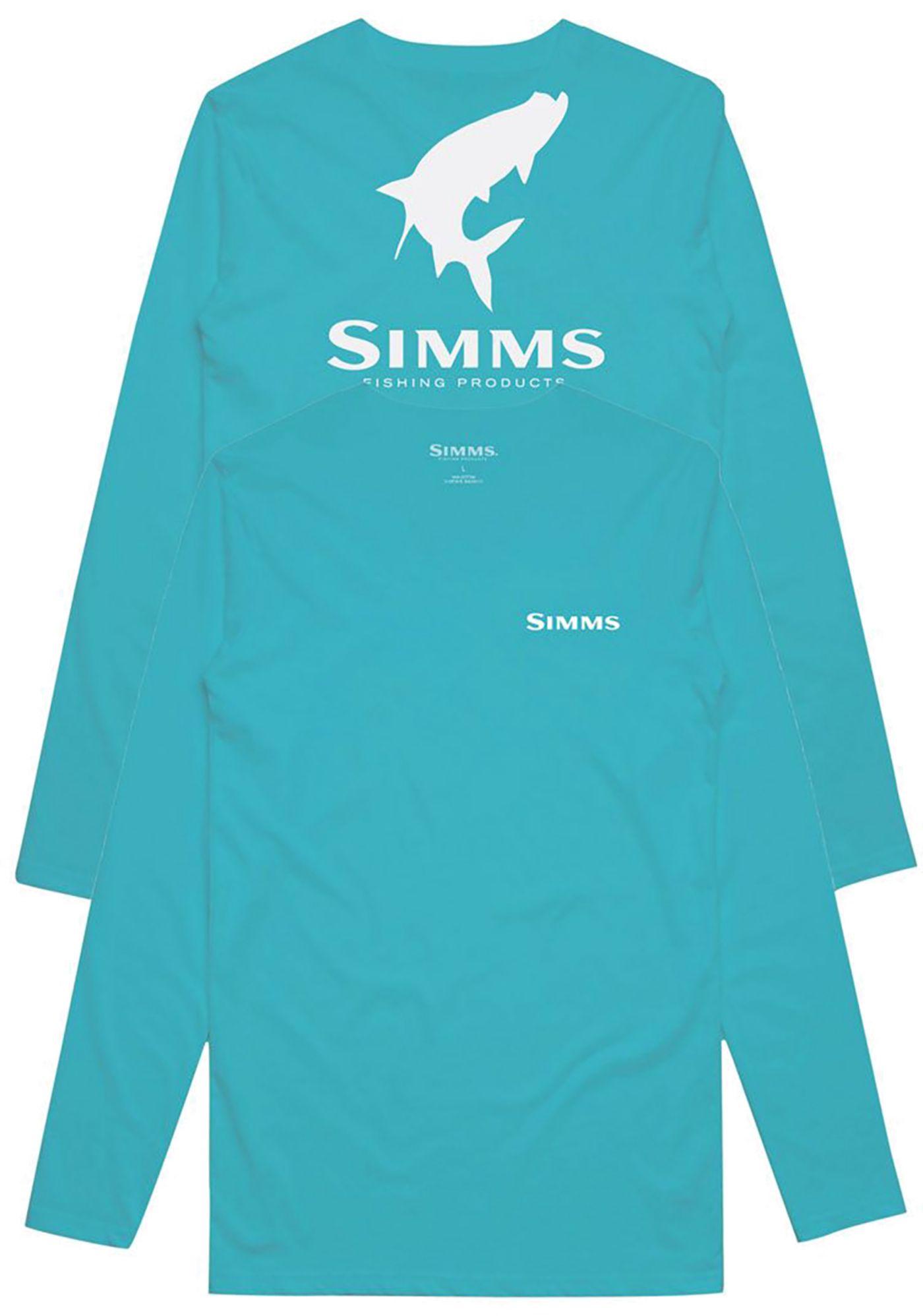 Simms Men's Tarpon Logo Long Sleeve Tech Tee