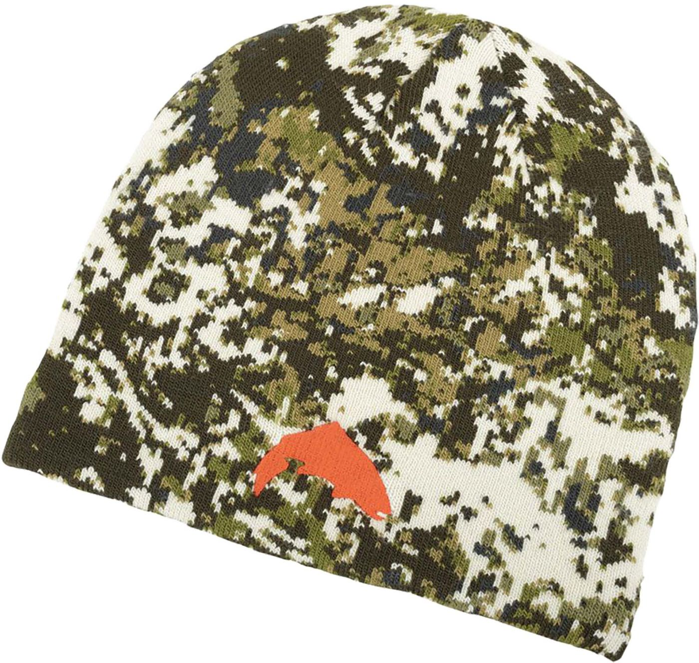 Simms Men's Trout Camo Beanie