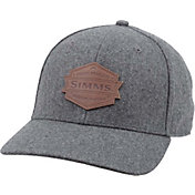 Simms Men's Wool Leather Patch Cap