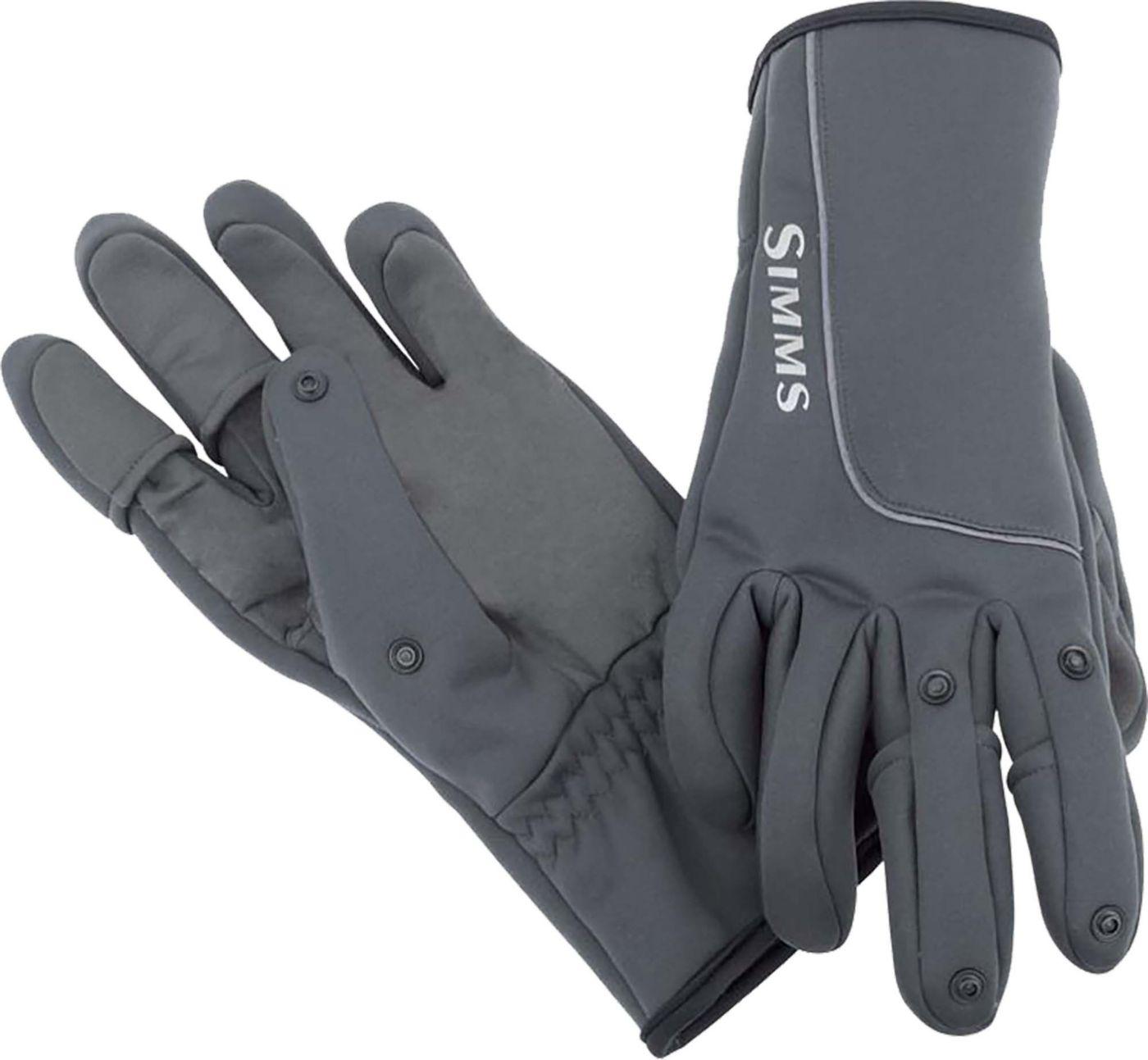 Simms Men's Guide Windbloc Polartec Flex Gloves