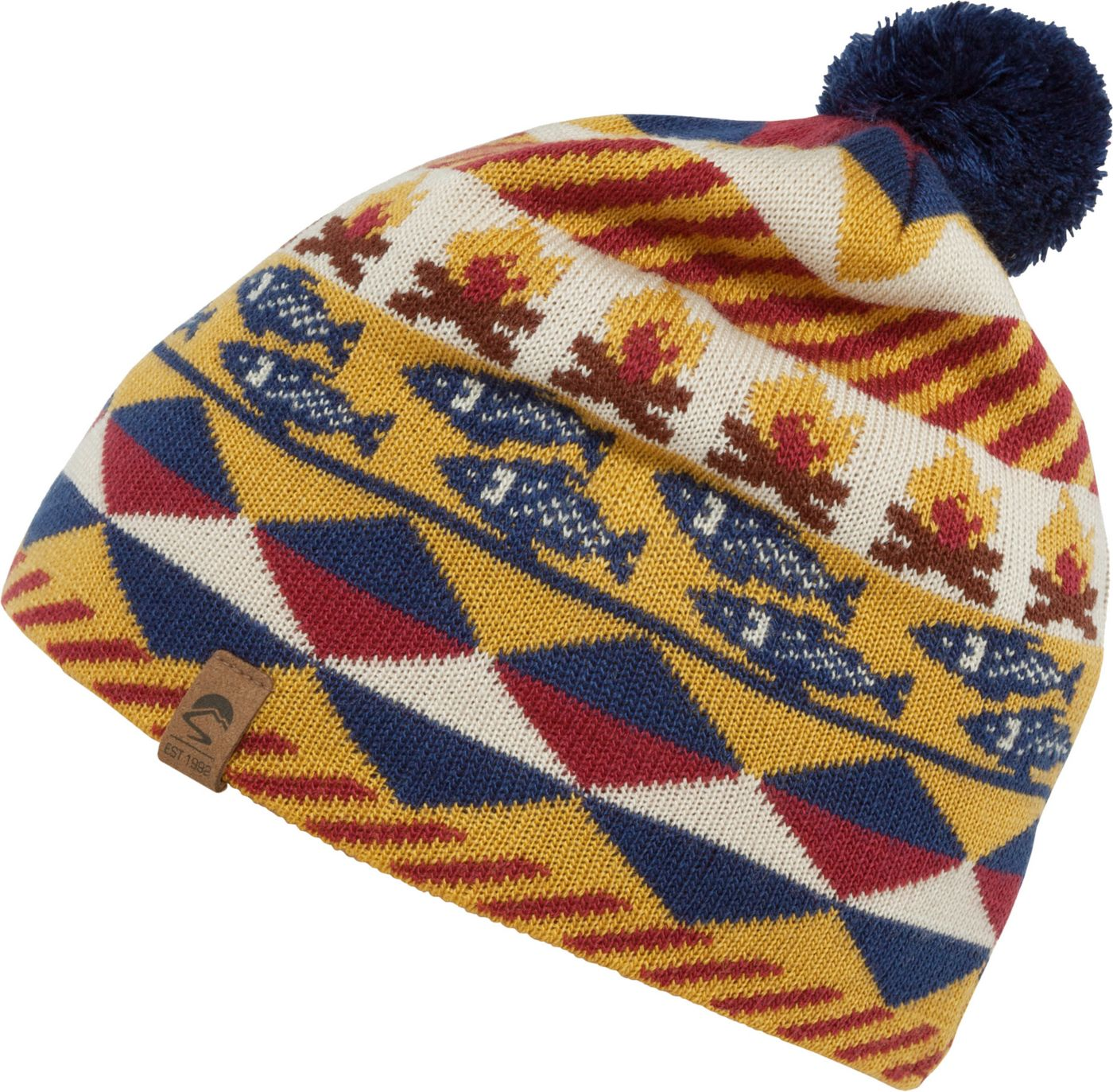Sunday Afternoons Youth Fish and Fire Beanie