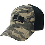 Smith & Wesson Men's Camo Logo Patch Baseball Hat