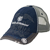 Smith & Wesson Men's Distressed Eagle Mesh Hat