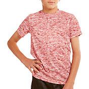 Soffe Boys' Melange Performance T-Shirt