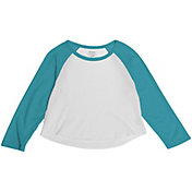 Soffe Juniors' Cropped Baseball T-Shirt