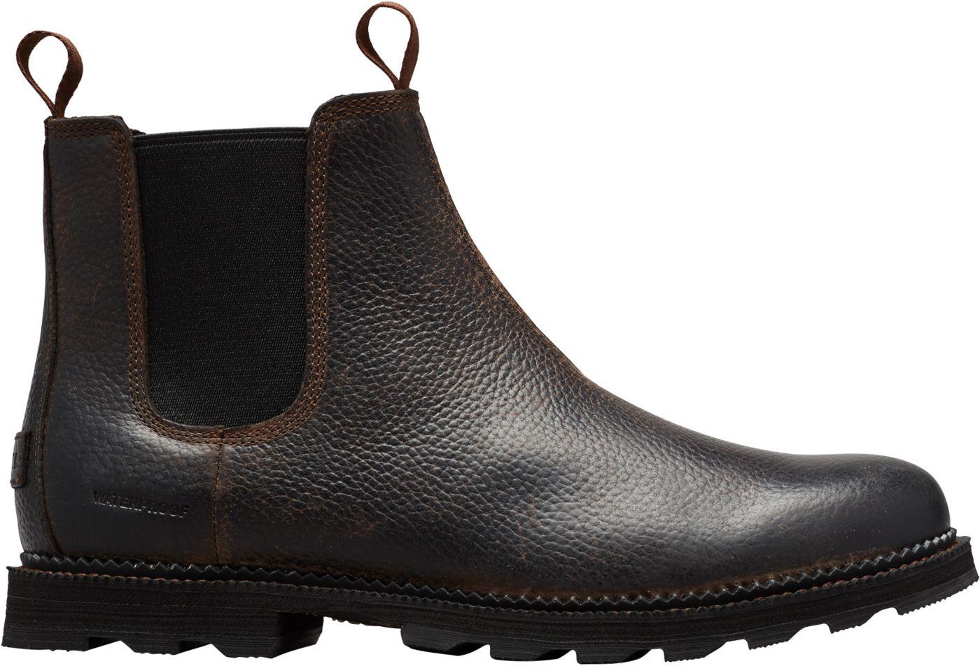 SOREL Men's Madson Chelsea Waterproof Casual Boots